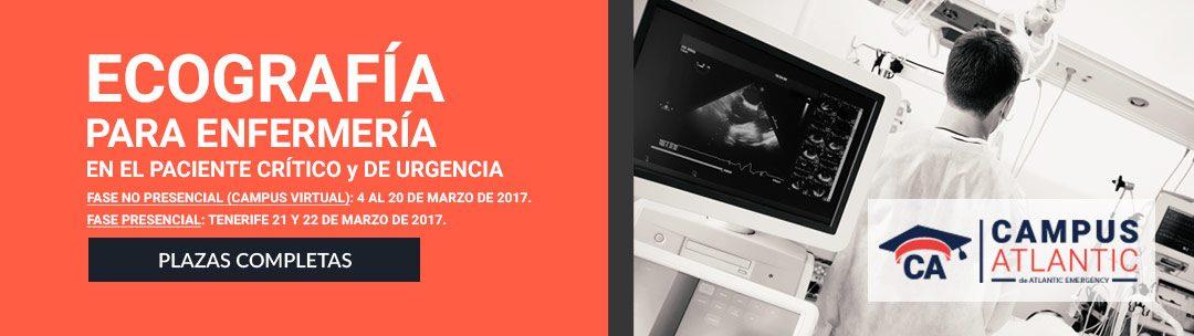 Ecografía para Enfermería en el paciente crítico y de urgencia 2017 – primera edicion