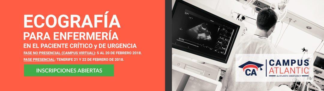 Ecografía para Enfermería en el paciente crítico y de urgencia 2018
