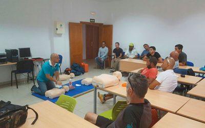El Cabildo de Fuerteventura organiza curso de primeros auxilios para colaboradores de la XVIII vuelta a Fuerteventura en Kayak