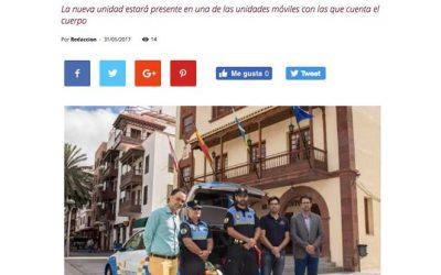 LA POLICÍA LOCAL DE SAN SEBASTIÁN CUENTA CON UN NUEVO DESFIBRILADOR